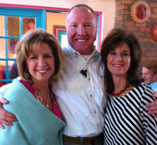 Spencer with Becky and Kathy McCraney